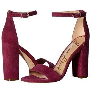 Sam Edelman yaro plum sandal